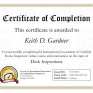Deck Inspection